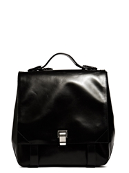 New Season Proenza Schouler Womens Braided Courier Leather Backpack