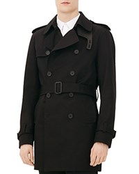 Sandro Magnetic Trench Coat Noir