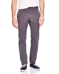 Billy Reid Leonard Slim Fit Chino Pants Dark Grey