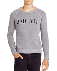 Altru Rad Art Raglan Sweatshirt Grey