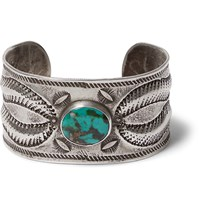 Peyote Bird Buffalo Turquoise And Sterling Silver Cuff