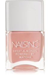 Nails Inc Sweet Almonds Powered By Matcha Nail Polish King William Walk Neutral