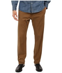Dockers Washed Khaki Slim Tapered Tobacco Men's Casual Pants Brown
