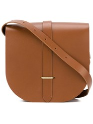 The Cambridge Satchel Company Small Saddle Bag Brown