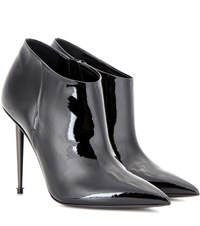 Tom Ford Patent Leather Ankle Boot Black