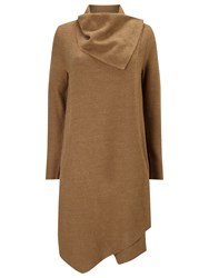 Phase Eight Bellona Waterfall Coat Camel