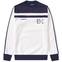 Adidas 83 C Crew Sweat White