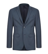 Solid Homme Tailored Blazer Male Green