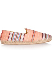 Penelope Chilvers Striped Canvas Espadrilles