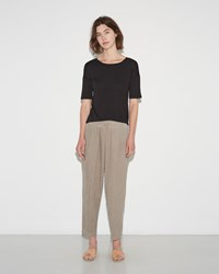 Black Crane Carpenter Pant Cement