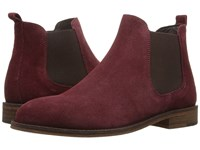 Wolverine Jean Merlot Suede Women's Pull On Boots Red