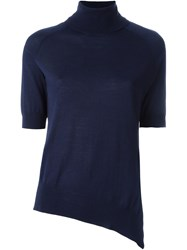 Neil Barrett Asymmetric Jumper Blue