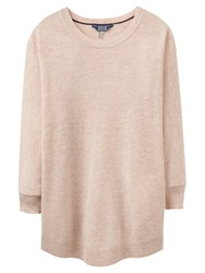 Joules Edith Boxy Fit Jumper Calico Melange