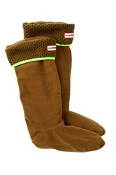 Hunter Neon Trim Boot Socks Green
