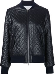 Adam By Adam Lippes Adam Lippes Quilted Bomber Jacket Black