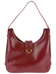 Hermes Vintage Vintage 'Saco' Bag Red