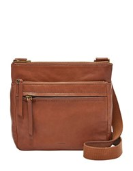 Fossil Corey Leather Crossbody Bag Brown