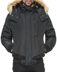 Andrew Marc New York Knoxl Faux Fur Trim Parka Compare At 300 Black