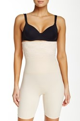 Joan Vass High Waist Tummy Control Slimmer Plus Size Available Beige