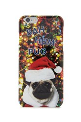 Forever 21 Holiday Pug Case For Iphone 6 Red Multi