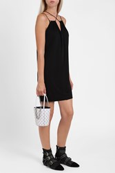Alexander Wang Women S Cross Strap Jersey Dress Boutique1 Black