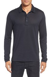 Billy Reid Men's 'Smith' Long Sleeve Polo