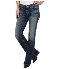 Big Star Maddie Boot Mid Rise Curvy Fit In 16 Year Bella 16 Year Bella Women's Jeans Blue
