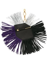 Pierre Hardy Fringed Purse Key Chain Multicolour