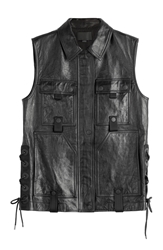 Alexander Wang Utility Leather Vest