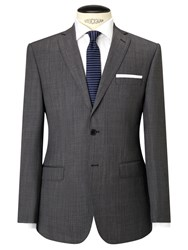 Daniel Hechter Pindot Tailored Suit Jacket Grey