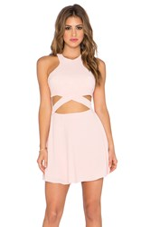 Nbd X Naven Twins Chromat Fit And Flare Dress Pink