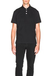 J.W.Anderson J.W. Anderson Polo Shirt With Knot Buttons In Black