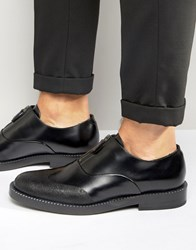 Hugo Boss Zip Loafers Black