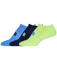 Under Armour Women's Athletic Solo Socks 3 Pack X Ray Yellow