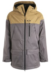 Oakley Silver Fox Snowboard Jacket Forged Iron Brown