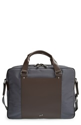 'Shyrt' Nylon Briefcase Dark Grey