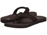 Quiksilver Carver Suede Demitasse Solid Men's Sandals Brown