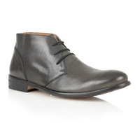 Frank Wright Fielding Lace Up Derby Style Shoes Black