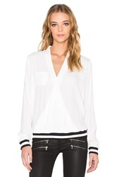 Rvca Centra Long Sleeve Top White