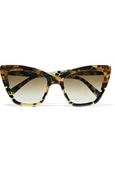 Prism Cat Eye Acetate Sunglasses Tortoiseshell
