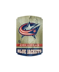 Wincraft Columbus Blue Jackets Wood Sign