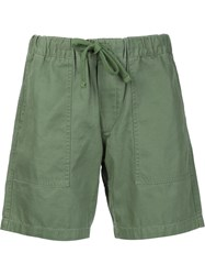 Obey Drawstring Shorts Green