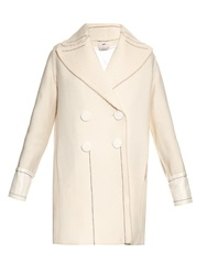 Edun Stitch Detail Wool Blend Coat
