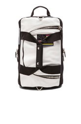 Givenchy Bicolor Leather Backpack In Black White