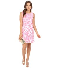 Lilly Pulitzer Callie Shift Dress Pink Sun Ray Shimmy Shimmy Women's Dress