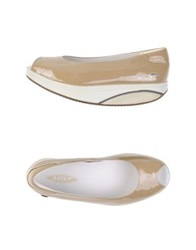 Mbt Pumps Beige