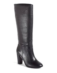 Lord And Taylor Madise Leather Boots Black