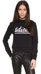 Etre Cecile Adieu Slim Fit Sweatshirt Black
