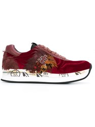 Premiata 'Holly' Sneakers Red