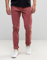 Selected Homme Regular Tapered Fit Chino Apple Butter